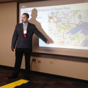 digital risk analysis of electrical grid