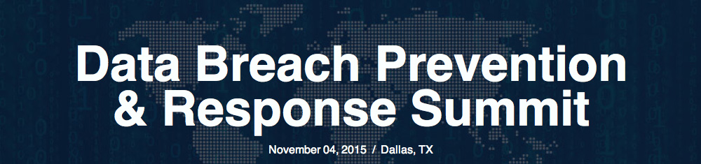 Data Breach Prevention & Response Summit – Nov 4