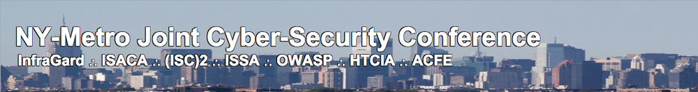 New York Metro Joint Cyber Security Conference 2015