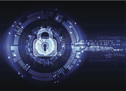 Cybersecurity-padlock